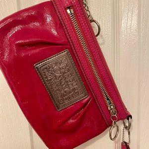 New Coach leather purse/wristlet